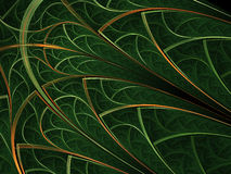 Картина леса тематическая густолиственная Стоковая Фотография