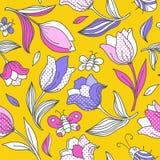 Картина лета с tulips_1 бесплатная иллюстрация