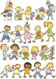 Картина детей Стоковая Фотография RF