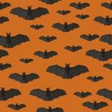 Картина летучих мышей Стоковые Фотографии RF