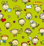Картина еды детей Стоковое Изображение