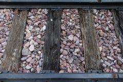 картина железной дороги Стоковая Фотография RF