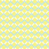 Картина желтого шеврона безшовная Стоковое Фото