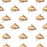 Картина зайчиков акварели Стоковые Фотографии RF