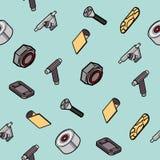 Картина запасных частей скейтборда Стоковая Фотография
