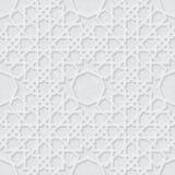 Картина звезды арабескы с светом Grunge - серой предпосылкой, традиционным дизайном иллюстрация штока