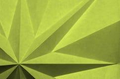 Картина звезды желтого origami геометрическая стоковые изображения