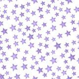 Картина звезды Нового Года безшовная Стоковая Фотография