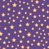 Картина звезды Нового Года безшовная Стоковые Изображения RF