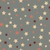 Картина звезд Doodle Стоковые Фотографии RF