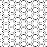 Картина звезд кругов кельтская геометрическая безшовная Бумага для scrapbook Предпосылка вектора Стоковые Изображения