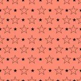 Картина звезды, предпосылка звезды Искусство звезды Иллюстрация вектора, EP Стоковая Фотография RF