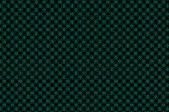 Картина зеленой черной шотландки Lumberjack безшовная бесплатная иллюстрация