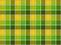 Картина зеленой желтой проверки весны безшовная бесплатная иллюстрация