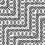 Картина зигзага дизайна безшовная monochrome иллюстрация вектора
