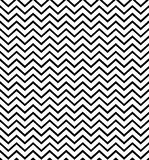 Картина зигзага черно-белая безшовная r Напечатайте ткань, ярлык, знамя, крышку, карту, вебсайт, сеть иллюстрация штока