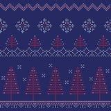 Картина - зима, рождество, Новый Год Стоковая Фотография RF