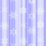 Картина зимы хлопь безшовная Стоковое Изображение RF