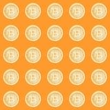 Картина знака bitcoin акварели Виртуальная принципиальная схема денег Иллюстрация для дизайна, печати или предпосылки бесплатная иллюстрация