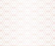 Картина золотого вектора геометрическая безшовная Розовые линии золота на белой предпосылке иллюстрация вектора