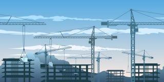 Картина зоны здания Стоковые Изображения