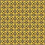 Картина золота безшовная геометрическая Стоковое фото RF