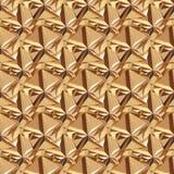 Картина золота безшовная полигональная Стоковые Изображения RF