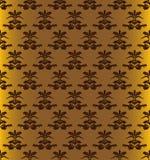 картина золота безшовная Стоковые Изображения RF