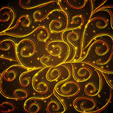 Картина золота Стоковая Фотография