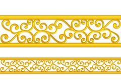 Картина золота Стоковое фото RF