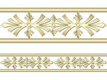 Картина золота Стоковые Фотографии RF