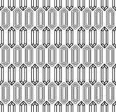 Картина диамантов безшовная Стоковая Фотография RF
