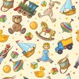 Картина игрушек детей иллюстрация штока