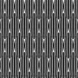 Картина дизайна безшовная monochrome абстрактная иллюстрация вектора