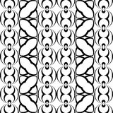 Картина дизайна безшовная monochrome геометрическая иллюстрация вектора