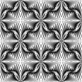 Картина дизайна безшовная monochrome декоративная бесплатная иллюстрация