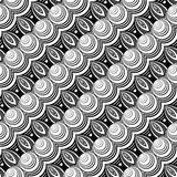 Картина дизайна безшовная monochrome декоративная иллюстрация штока