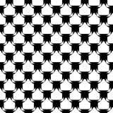 Картина дизайна безшовная monochrome раскосная. Абстрактный ба решетки иллюстрация штока