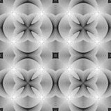 Картина дизайна безшовная monochrome striped Стоковые Фото