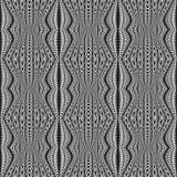 Картина дизайна безшовная monochrome stripy иллюстрация вектора