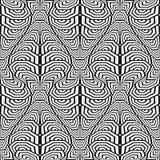 Картина дизайна безшовная monochrome stripy бесплатная иллюстрация