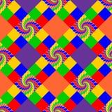 Картина дизайна безшовная multicolor абстрактная иллюстрация штока