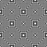 Картина дизайна безшовным проверенная monochrome иллюстрация штока