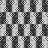 Картина дизайна безшовным trellised monochrome иллюстрация штока