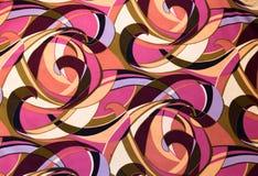 картина изогнутая тканью Стоковые Изображения RF