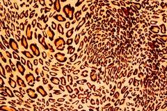 Картина дикого животного ткани текстуры Стоковая Фотография