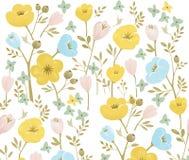 картина иллюстрации цветка в простой предпосылке иллюстрация штока