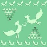 Картина лисичек Стоковые Изображения RF