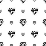 Картина искусства пиксела стиля диаманта моды предпосылки безшовная иллюстрация вектора