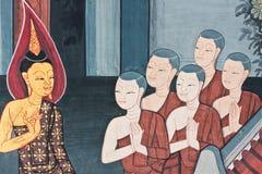 картина искусства тайская Стоковые Изображения RF